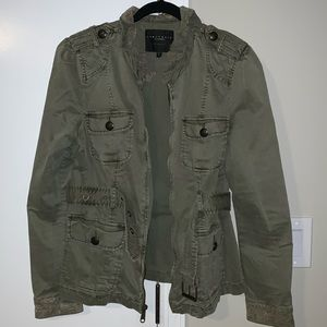 Sanctuary Olive Military Style Jacket